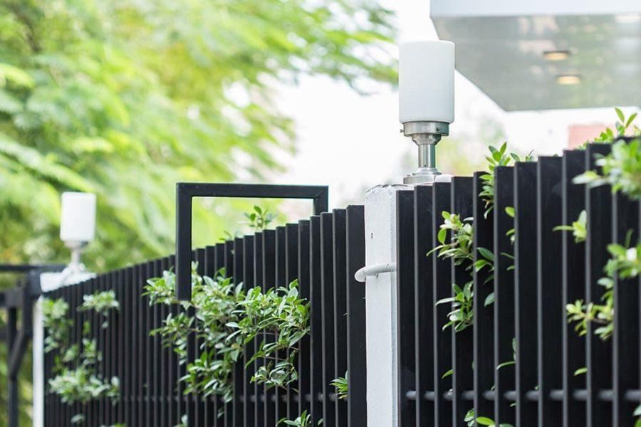 ogrodzenie lakierowane proszkowo